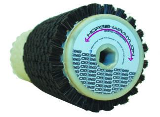 Kombiborste - rotor tagel och nylon